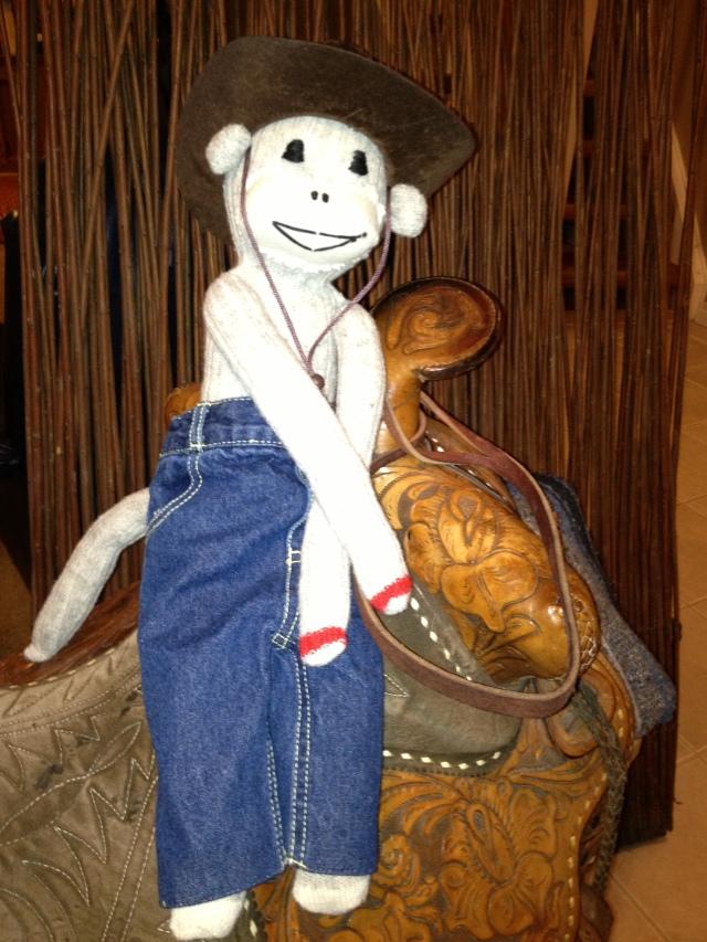 Sock Monkey Cowboy (1)